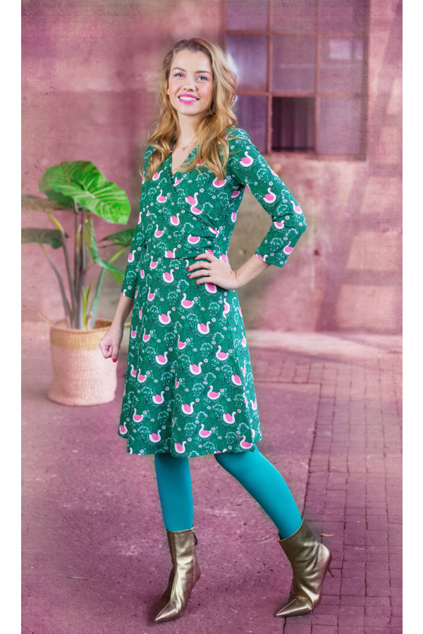 DRESS TANGO SWANNI GREEN