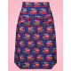 SKIRT RETRO LONDON PURPLE