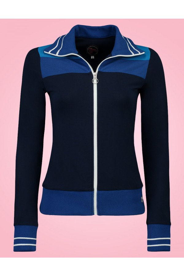SPORTY JACKET MULTI BLUE