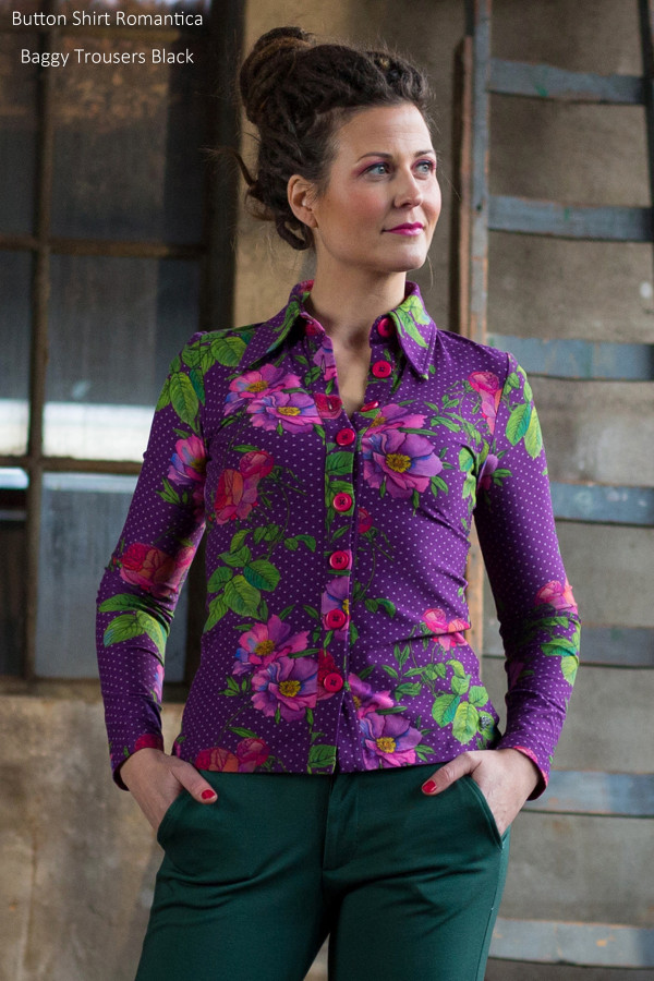 BUTTON SHIRT ROMANTICA PURPLE