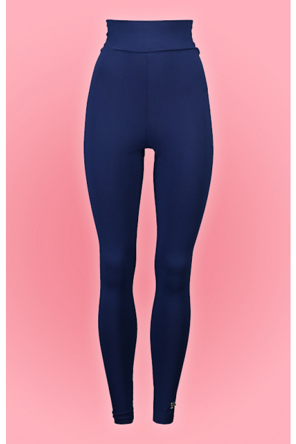 HIGH WAIST LEGGING BLUE