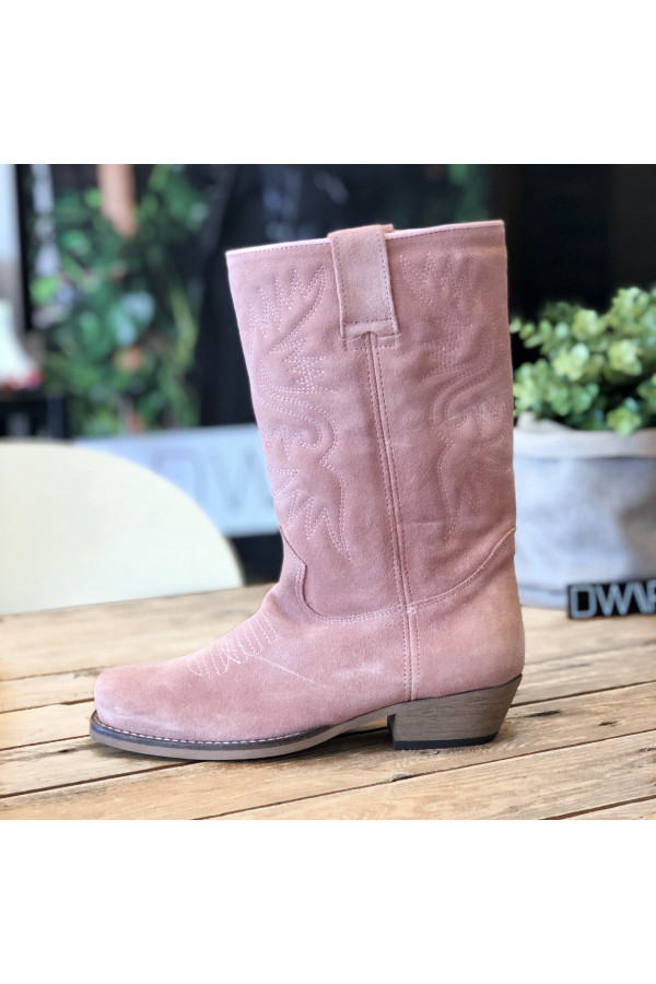 DWRS Western laars Dallas Suede Barbie