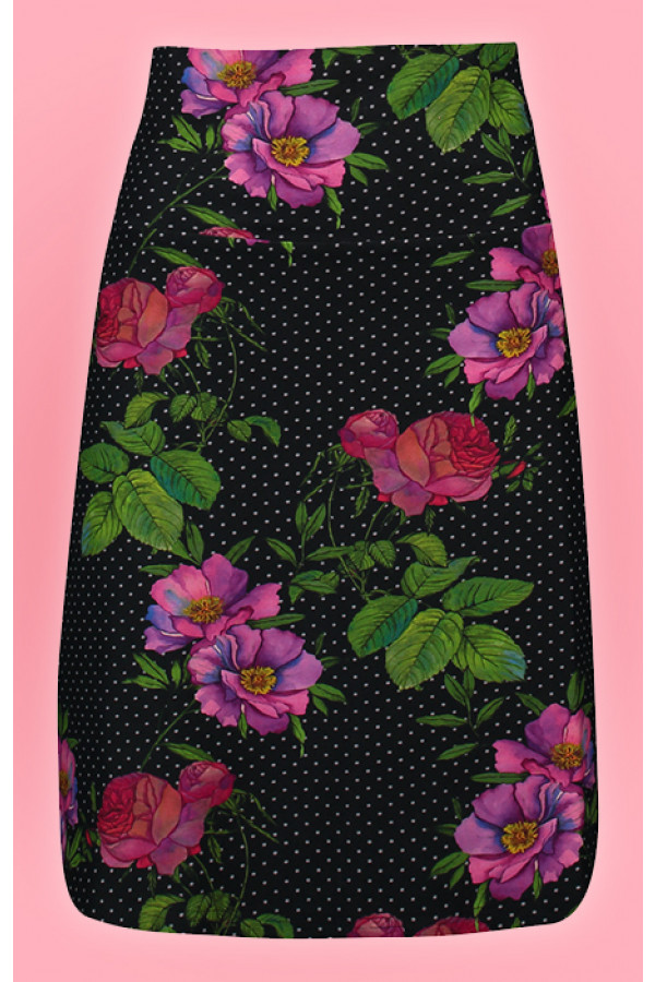 SKIRT ROMANTICA BLACK