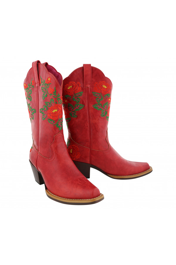 Betsy Boot Cowgirl Red